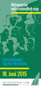 Regionalgruppe Berlin Brandenburg Internationaler Tag Der Mediation